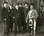 'Colonel' William N. Selig, Harry Lauder, William Morris, and others, ca. 1914