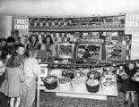 A candy display at the Fox Theatre in Aurora, Colorado in 1948