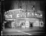 Warners Theatre, Fresno, California, ca. 1957